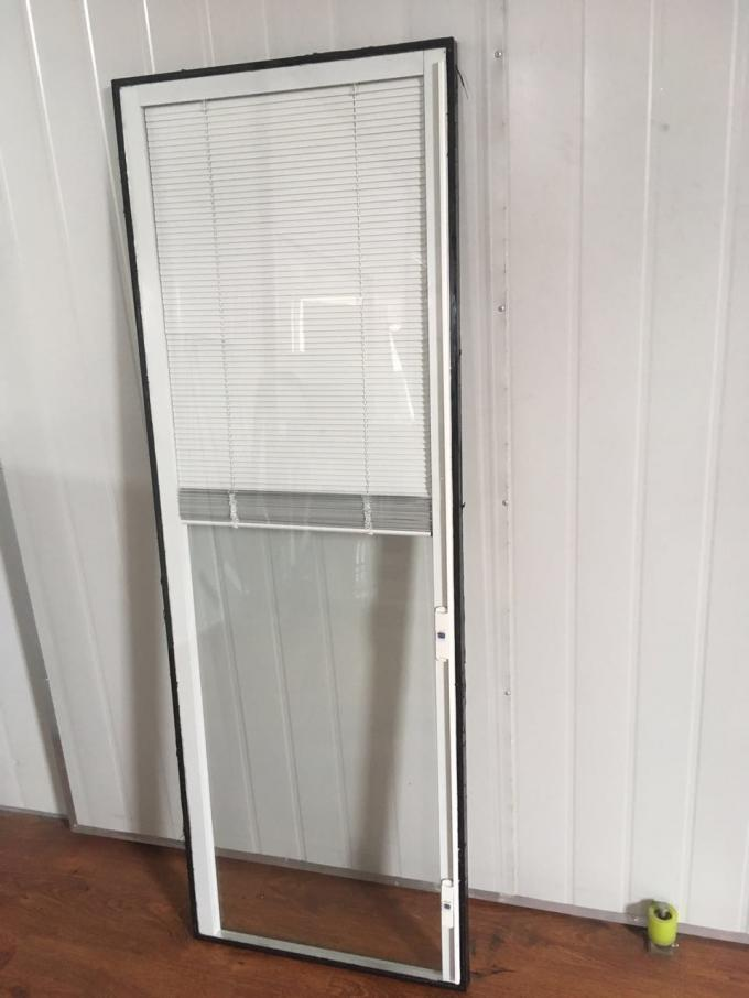 "22""*64"" Inch Blinds In Glass , White  Tempered Glass With Blinds Inside"