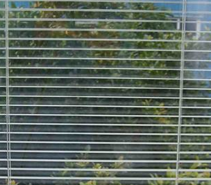 Internal Blinds Inside Glass Privacy Protection Heat / Sound Insulation