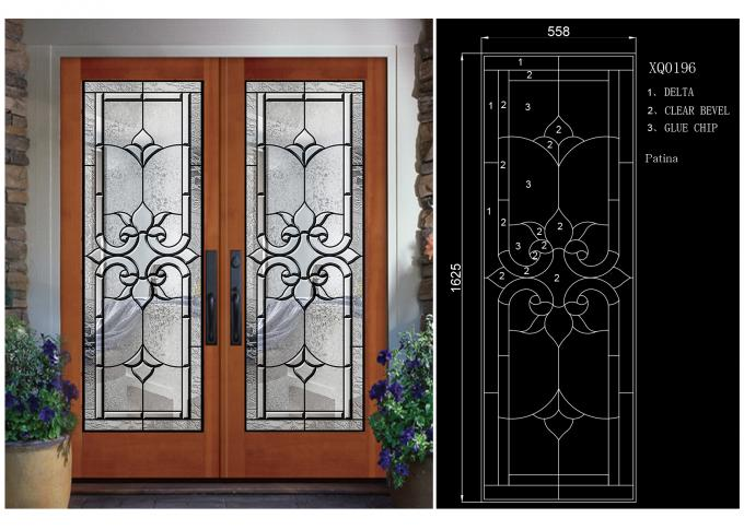frosted glass  Appeal Decorative Panel Glass For Apartment Home Pattern Surface sandblasted