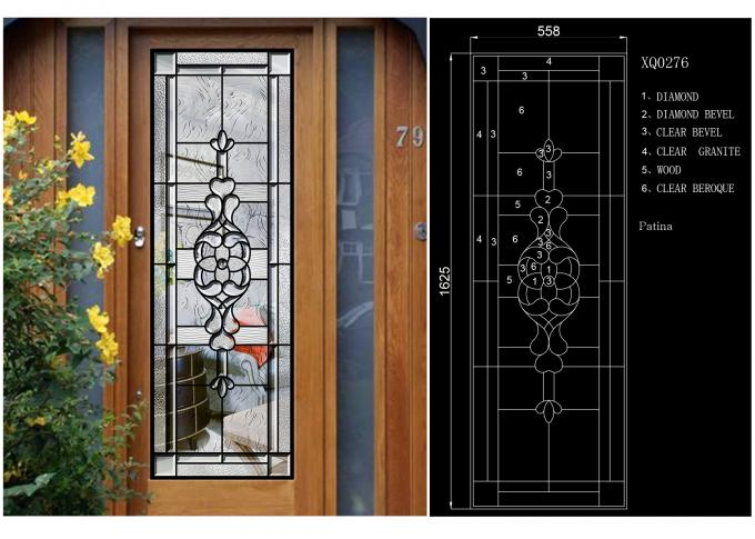 Weathered Tempered Sliding Glass Door Surface Sketch Easier To Clean