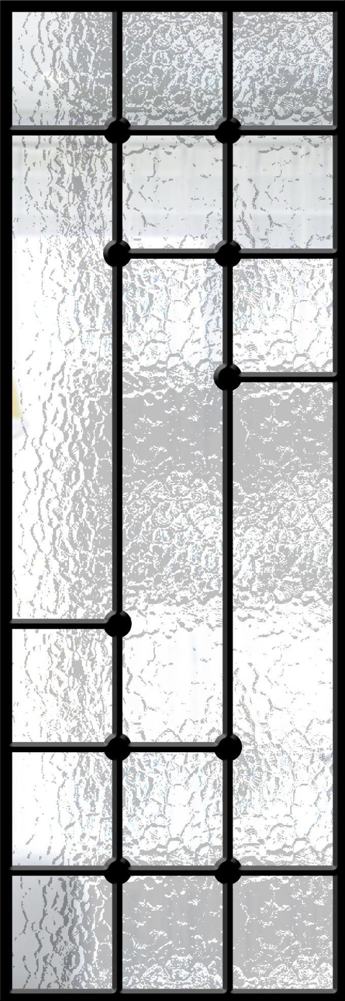 Modern Technology 2264 Inch Wrought Iron Glass Instant Iconic Stain Grade Jamb
