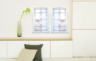 China Custom Design Decorative Glass Window Panes Thermal / Sound Insulation supplier