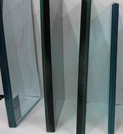 China 3-19 Mm Toughened Laminated Safety Glass 73Gpa Elastic Module Theft Proof supplier