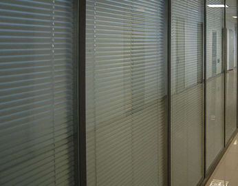 China Vertical Blinds Between The Glass , Sound / Heat Insulating Blinds Between Glass supplier