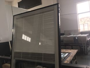 China Internal Blinds Glass With Door Interior Exterior Suit Moisture Resistance supplier