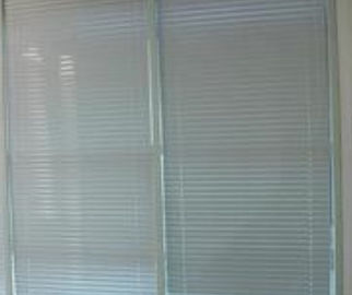 China Horizontal Blinds Between Glass Door Inserts Thermal Sound Insulation supplier