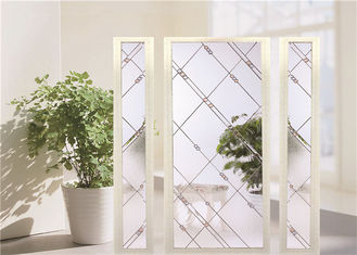 China Bullet Proof  Security Sliding Glass Door EU Standard Plated Chrome supplier