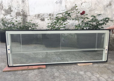 China Impact Resistant Blinds Inside Glass Single Double Tempering Coating supplier