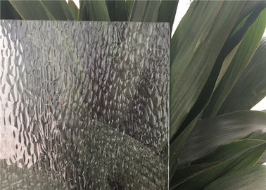 China Curve / Flat Textured Glass Sheets , Obscure Frosted Patterned Glass supplier