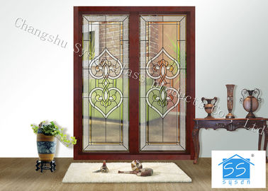China Fire Rated Door Glass Panels , Residential House Translucent Glass Panels supplier
