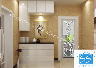 China Security Tempered Glass Panels , Architectural Decorative Door Glass Panels supplier
