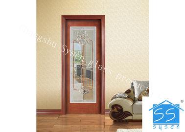 China Low E 3.2m Tempered Glass Door Panels For Exterior Door , Sliding Door Glass supplier