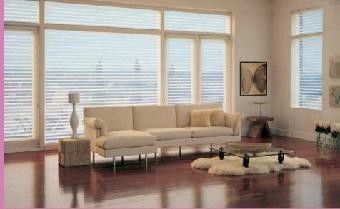 China Windows Blinds Inside Glass Horizontal  Pattern Sound / Heat Insulation supplier