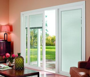 China Internal Blinds Inside Glass Sound / Heat Insulating Energy Saving supplier