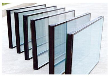 China Qualified Float Glass Sealed Insulated Glass Unit For Refrigerator Filled With Air supplier
