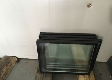China Extra Clear Bronze Dark Bronze Low E Insulated Glass Panels Filled With Air supplier