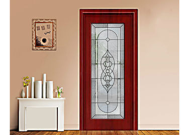 China Art Building Decorative Patterned Glass Panels / Decorative Panels For Doors supplier