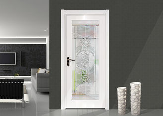 China Colorful Float Translucent Glass Panels , Decorative Door Glass 3-8 Mm Thickness supplier
