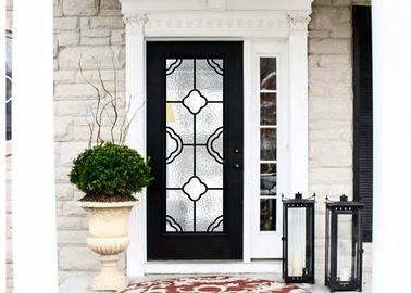 China Modern Technology 2264 Inch Wrought Iron Glass Instant Iconic Stain Grade Jamb supplier