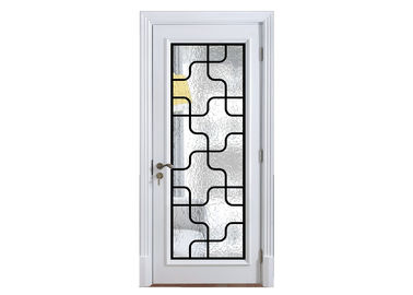 China Custom Decorative Glass Panels For Front Doors Add Low E / Argon Gas To Any Style supplier
