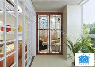 Building Glass Art Panels Patina Brass / Black Chrome / Red Copper Optional