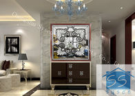 Good Quality Decorative Panel Glass & Float Decorative Bathroom Window Glass Custom Size Spell Mirror Pattern on sale