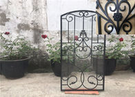 Mosaic Classical Wrought Iron Glass Agon Filled 15.5*39.37 Size Oval Shaped