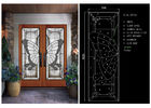 China Privacy Glass Slider Doors For Home Decor IGCC IGMA Certification company