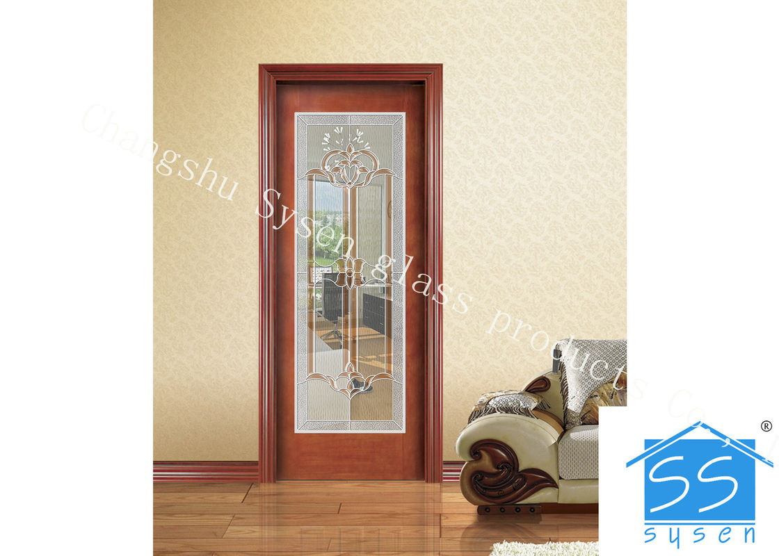 Low E 3.2m Tempered Glass Door Panels For Exterior Door , Sliding Door Glass