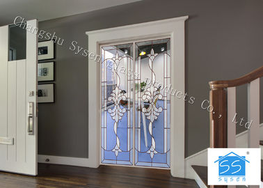China Double Pane Sliding French Doors , Interior / Exterior Glass Sliding Doors factory