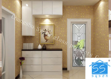 China Security Tempered Glass Panels , Architectural Decorative Door Glass Panels factory