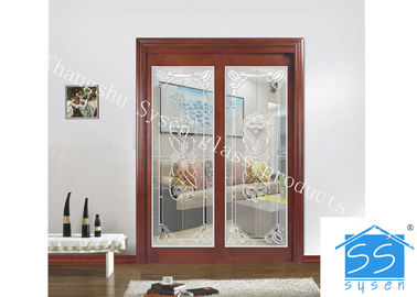 China Privacy Glass Slider Doors For Home Decor IGCC IGMA Certification factory