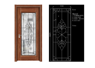 China New Design Decorative Architectural Tempered Glass , Energy Saving Decorative Glass Sheets factory