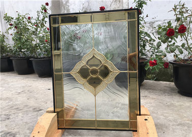 China Clear Decorative Glass Panels For Building , Decorative Glass Windows factory