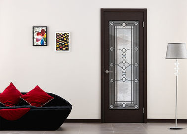 China Privacy Double Tempered Sliding Glass Door For Home Decor IGCC IGMA Certification factory